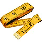 eBoot Soft Tape Measure for Sewing Tailor Cloth Ruler (Ginger)