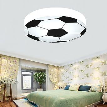 Waineg Kinderzimmer Licht Kreative Fußball Deckenleuchte Moderne LED Junge  Mädchen Augenschutz Deckenleuchte E27 Wohnzimmer Schlafzimmer Kindergarten  ...