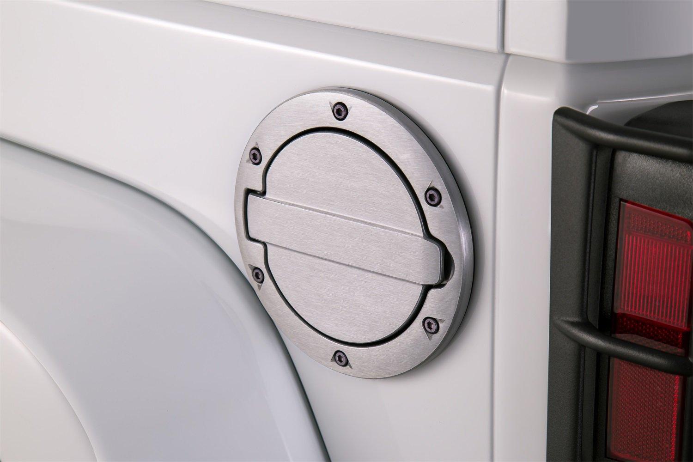 AMP Research Brushed Aluminum 73000-00A Fuel Door