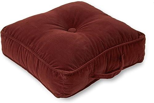 Greendale Home Fashions 20-Inch Square Floor Pillow Omaha/Amigo fabric