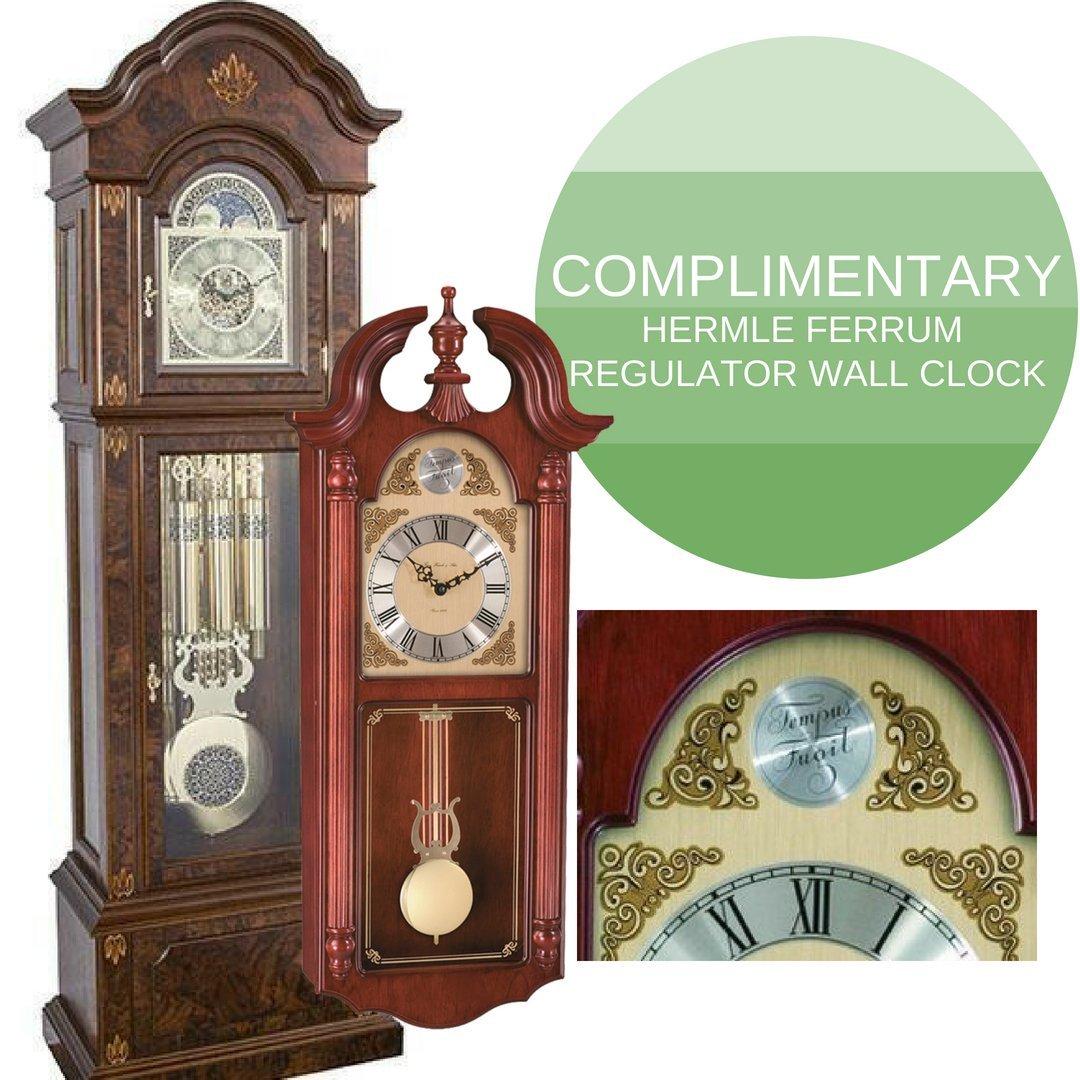 Amazon Hermle German Gabriella Mechanical Grandfather Clock By