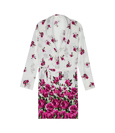 16e267bf6e3a Intimissimi Womens Micromodal Robe with Rose Degradè Print: Amazon.co.uk:  Clothing