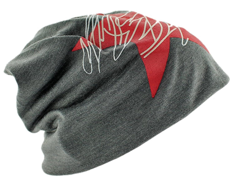 BONAMART® TM Fashion Unisex Männer Frauen Stern Cotton Beanie Baggy Skimütze Herbst Winter Hut Cap