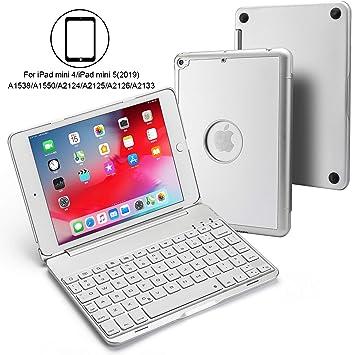 Luxacy - Funda para iPad Mini 4/iPad Mini 5 (Teclado ...