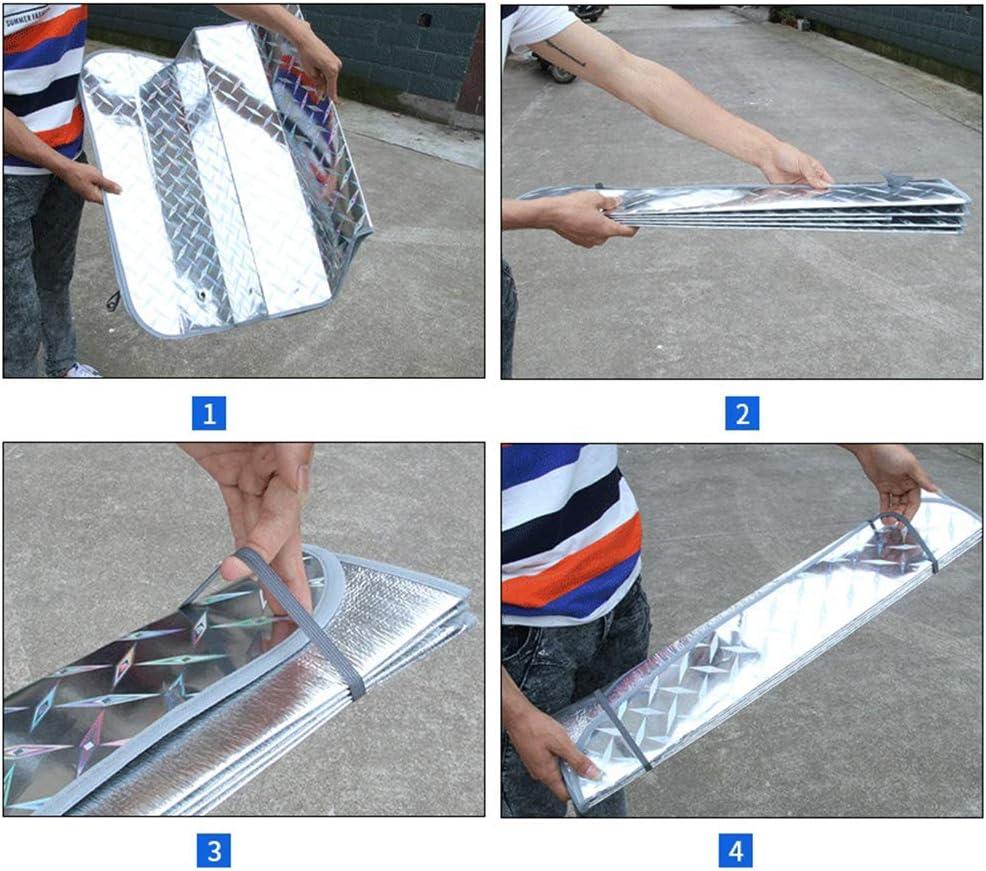 l/áser Meatyhjk Parasol para parabrisas delantero de verano protecci/ón solar para SUV 1 extra grueso