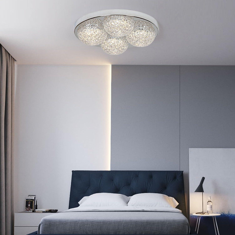 Amazon.com: FRTEJ - Lámpara de techo de cristal para ...