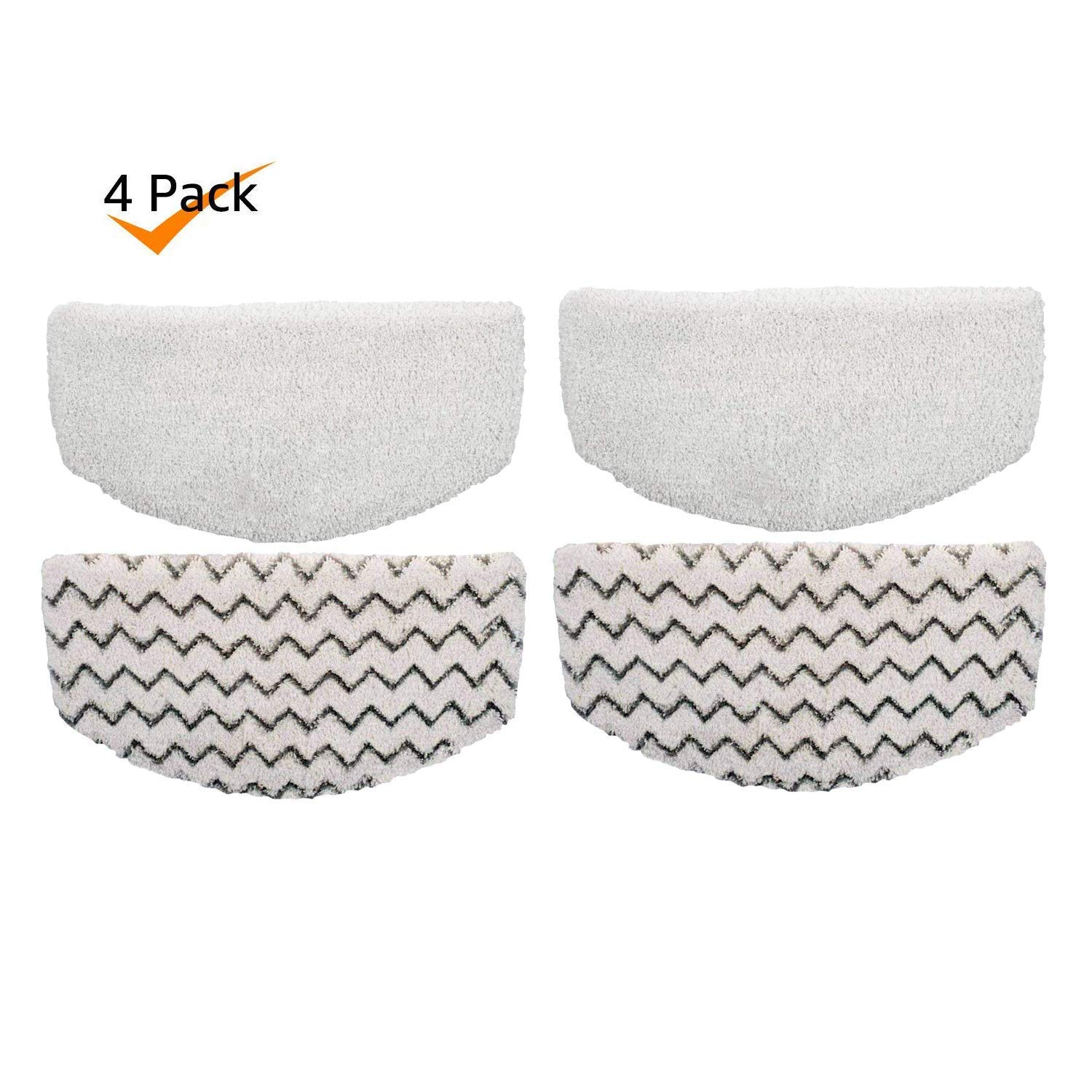 ESO 4 Pack Steam Mop Pads for Bissell Powerfresh Steam Mop 1940