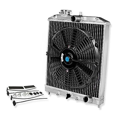 For Civic/Del Sol/Integra (Manual Transmission) 2-Row Dual Core
