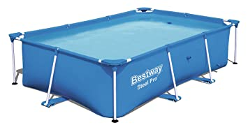Bestway Steel Pro Piscina Desmontable Tubular Infantil, 259 x 170 x ...