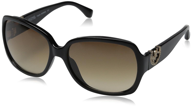 f18cdd88e97f Michael Kors M2890S 001 Black Angela Butterfly Sunglasses Lens Category 2:  Amazon.co.uk: Clothing