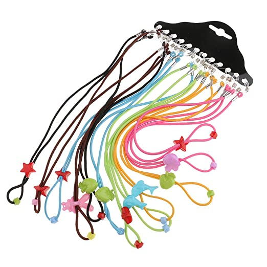 67613a2951d4 Fityle 12 Sports Glasses Neck Strap Eyeglass Holder Cord Chain ...