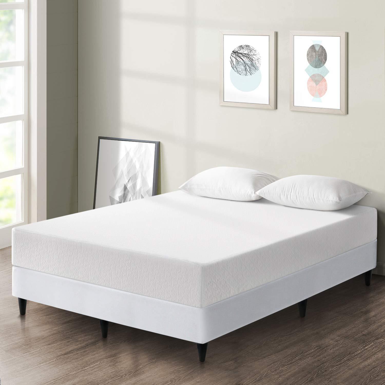 Best Price Mattress 10-inch Premium Memory Foam Mattress and New Innovative Steel Platform Bed Set – Queen