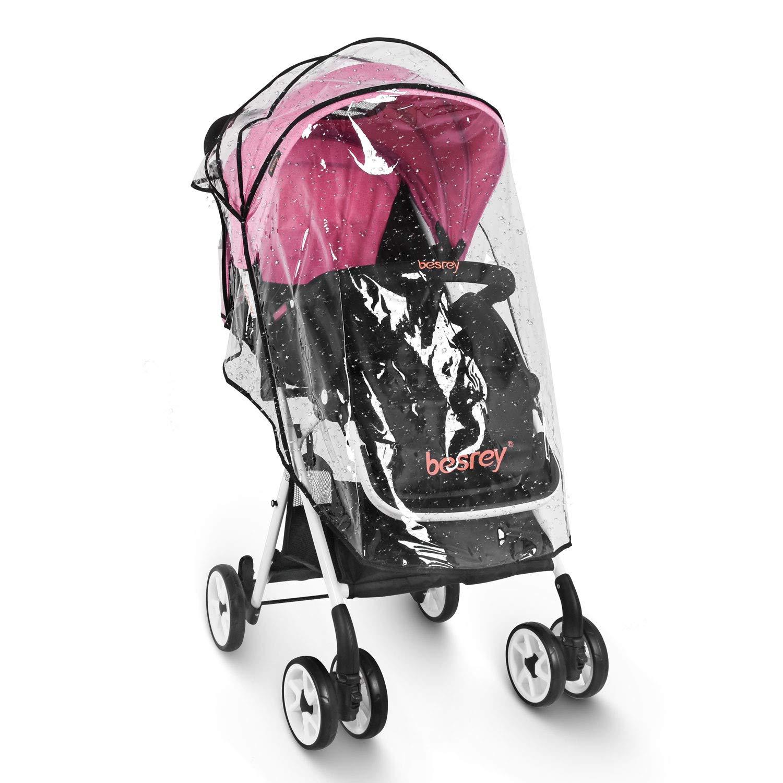 Blue Besrey Baby Stroller Folding Pushchair Lightweight Infant Travel Buggy