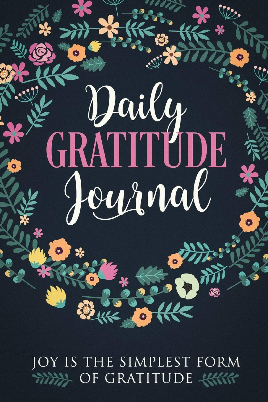 Gratitude Journal with motivational quotes