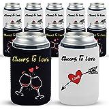 Blank Foam Bottle /& Can Coolers 5 Assorted Zipper Beer Bottle Coolers Coolies #5