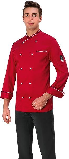Giblor S Giacca Cuoco Massimo Chef Cucina Ristorazione Amazon It Abbigliamento