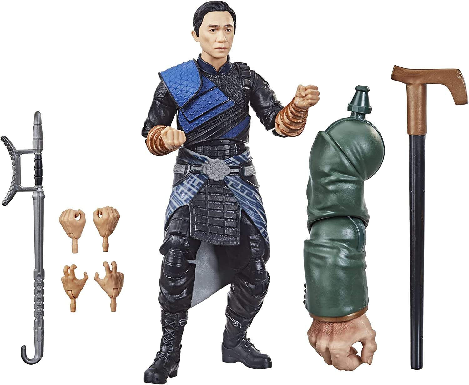 Marvel Hasbro Legends Series Shang-Chi and The Legend of The Ten Rings 6-inch Collectible Wenwu Action Figure Toy for Age 4 and Up