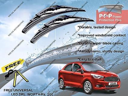 Volga Car Wiper Blades For Ford Figo Aspire Set Of