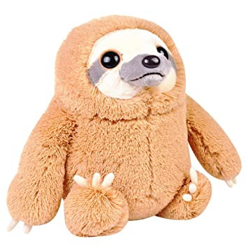 Katara Perezoso marrón muñeca de Peluche Juguete para bebés y niños mas Grandes en Figura de