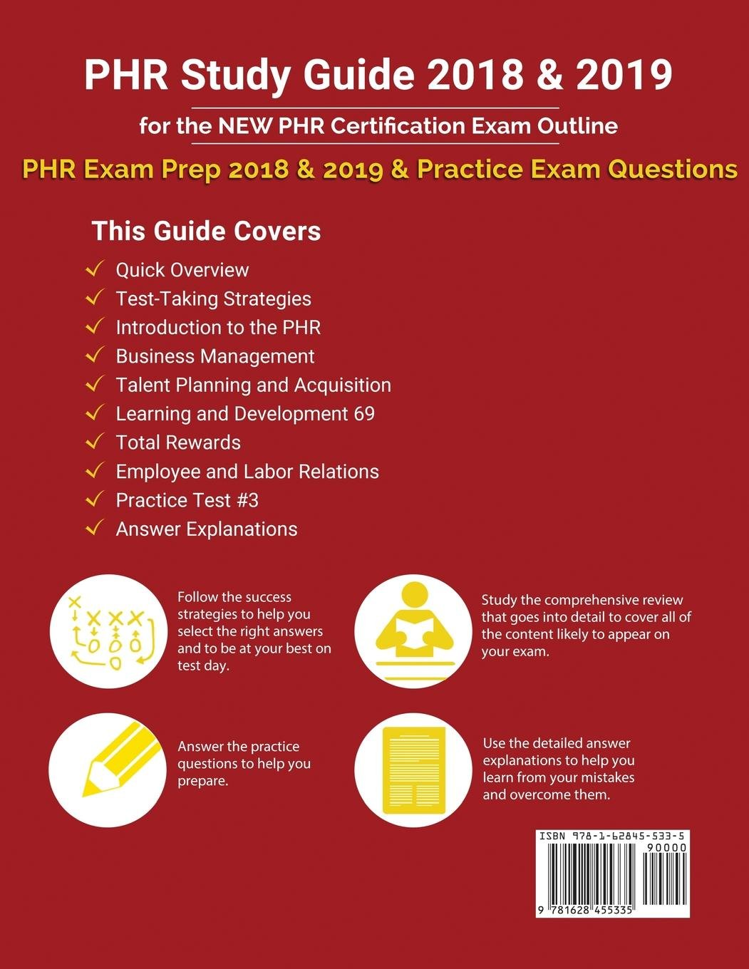 Buy Phr Study Guide 2018 2019 For The New Phr Certification Exam