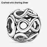 Pandora Jewelry - Openwork Infinity Charm in