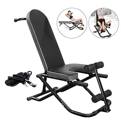 Amazon.com: AticaSport Sit-ups Fitness Banco de Inversión ...