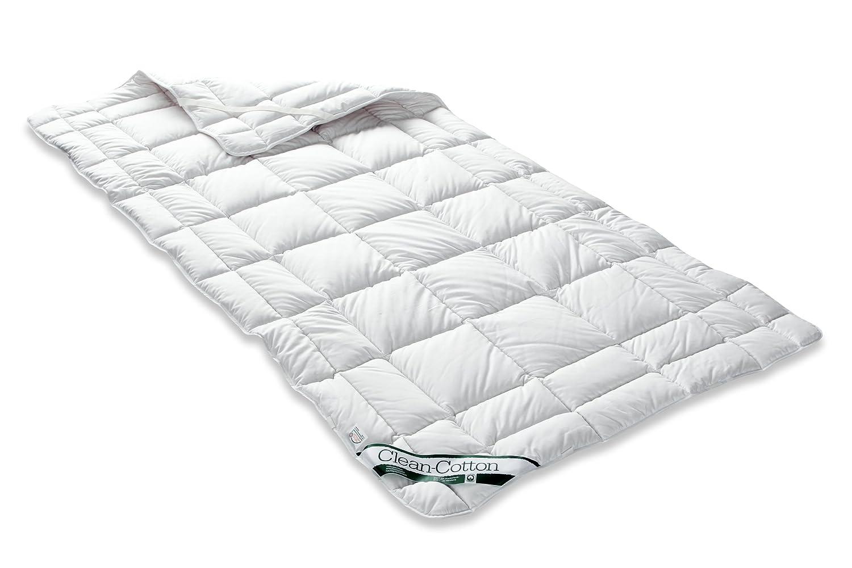 Badenia Bettcomfort Spannauflage Clean Cotton, 90 x 200 cm, weiß