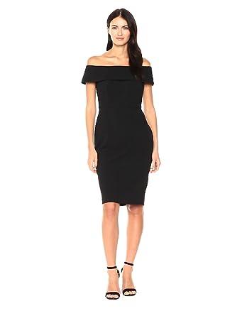 b65569e3e08c9 Calvin Klein Women s Seamed Off The Shoulder Dress at Amazon Women s ...