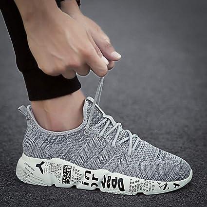 Hasag Tallas Grandes Zapatos Corrientes Zapatillas Deportivas Transpirables Tallas Grandes Entrenador Zapatos atléticos Deportivos Calzado,
