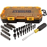 Deals on DEWALT Screwdriver Bit Set with Nut Drivers 71-Piece