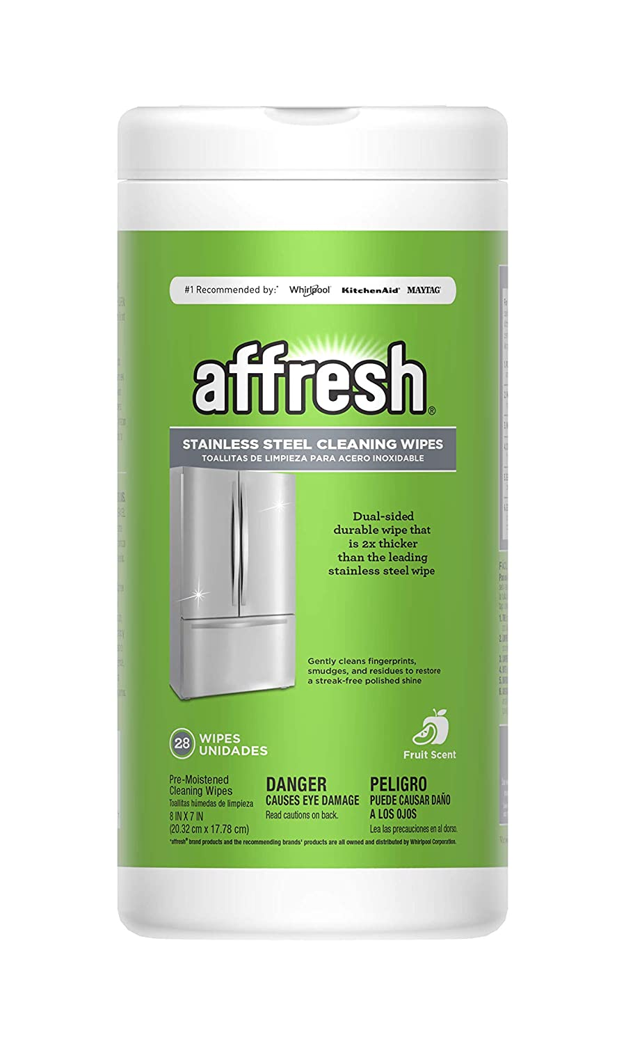 Amazon.com: Affresh W10539769 Stainless Steel Wipes, 28Ct: Home Improvement