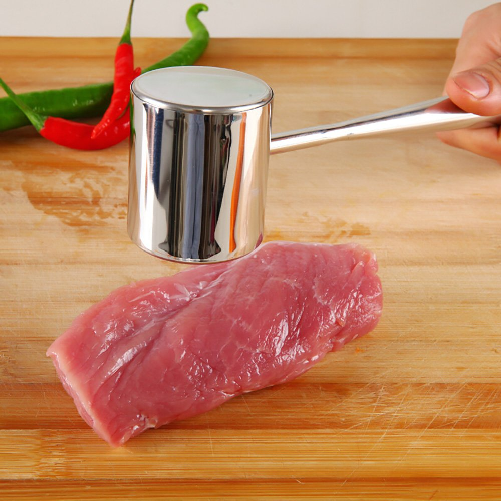 /ustensile de cuisine /Acier Inoxydable/ DE LA viande Pounding attendrir Kt06 Lanker Marteau Attendrisseur de viande/