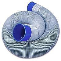 Prest-O-Fit 1-0061 Blueline 10' Ultimate Sewer Hose
