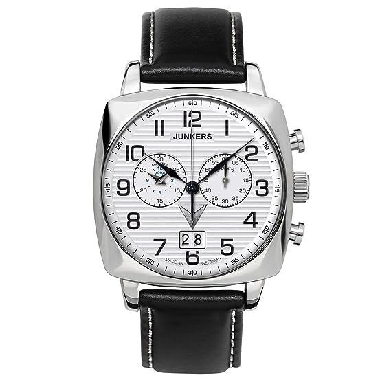 Junkers Chrono JU6486-1 Reloj elegante para hombres Fabricado en Alemania: Amazon.es: Relojes