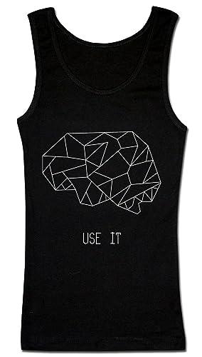 Brains. Use It. Geometrical Illustartion Camiseta sin mangas para mujer