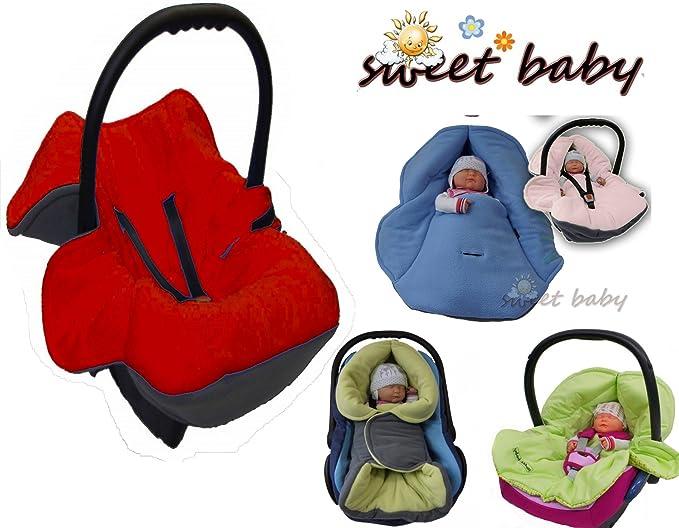 Bebé Sweet - no suave manta para envolver al bebé otoño/de invierno ** 3 UND 5 punto sistema de cinturón de seguridad ** Universal para capazo para ...
