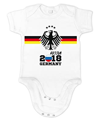 Artdiktat Baby Organic Bodysuit Strampler Deutschland Trikot