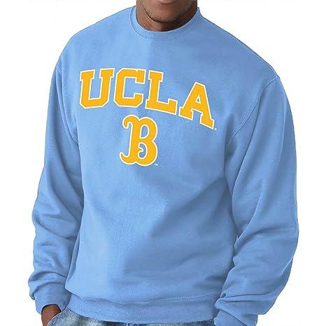 6a53723b Amazon.com : Campus Colors UCLA Bruins Adult Arch & Logo Gameday Crewneck  Sweatshirt - Light Blue, Medium : Sports & Outdoors