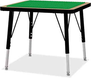 product image for Jonti-Craft 5719JCE Adjustable Building Table, Preschool Brick Compatible