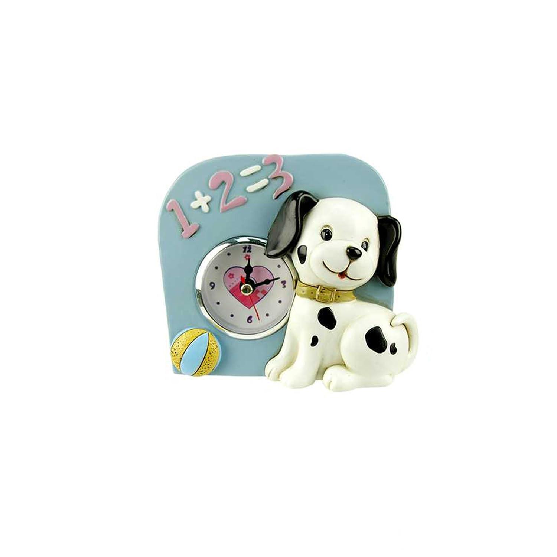 4.75 inches Pink CTG Brands 55562DC-PK Truu Design Dalmatian Clock
