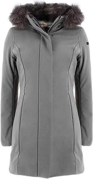 Rrd W17501 FUR80 Daunenjacke für Damen, Grün 42: