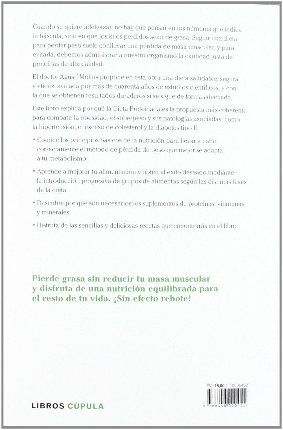 La Dieta Proteinada: Agustí Molins Olmos: 9788448000455: Amazon.com: Books