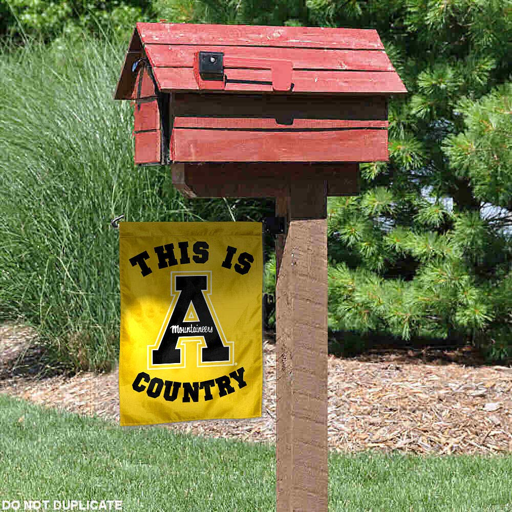 Appalachian State Mountaineers This is App State Country Garden Flag College Flags and Banners Co