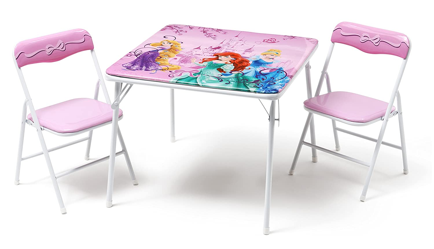 sc 1 st  Amazon UK & Disney Princess Metal Table and Chair Set: Amazon.co.uk: Baby