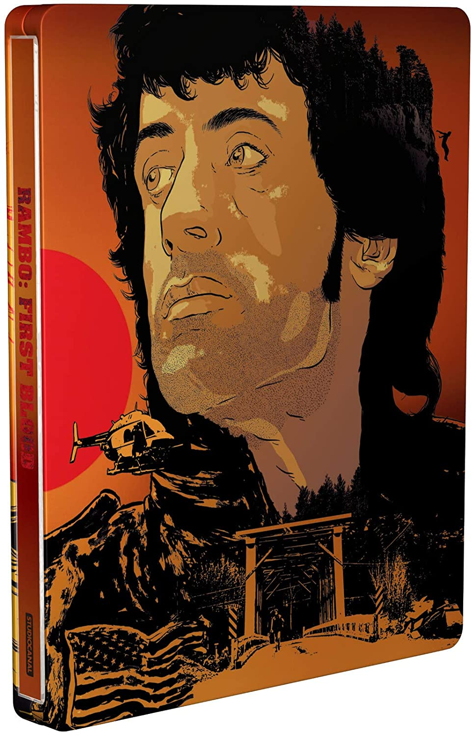 Rambo First Blood 4K Ultra HD Limited Edition Steelbook / Import / Includes Blu Ray: Amazon.es: Cine y Series TV