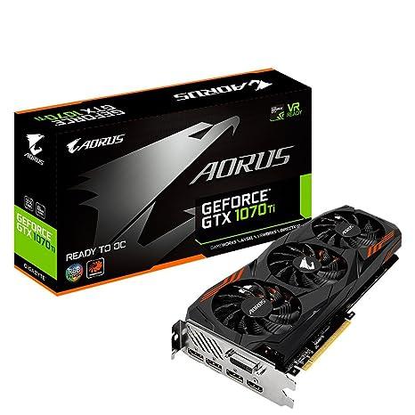 Gigabyte AORUS GeForce GTX 1070 Ti 8G 8GB GDDR5 - Tarjeta Gráfica