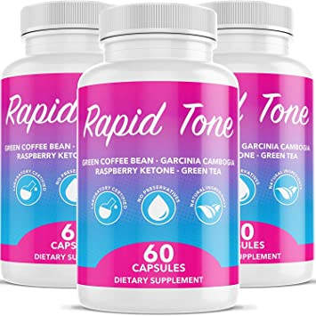 Rapid Tone Weight Loss Pills Supplement Burn Fat Quicker Carb Blocker Appetite Suppressant Fat