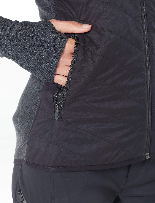 Ice Breaker Womens Descender Hybrid Jacket Snow-Skiing-Apparel