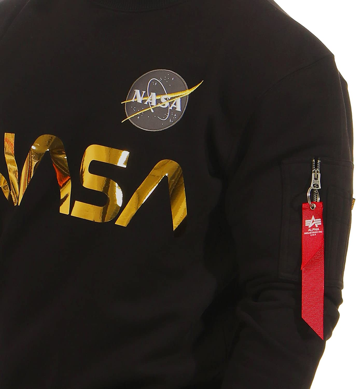 Alpha Industries Sweater NASA Reflective