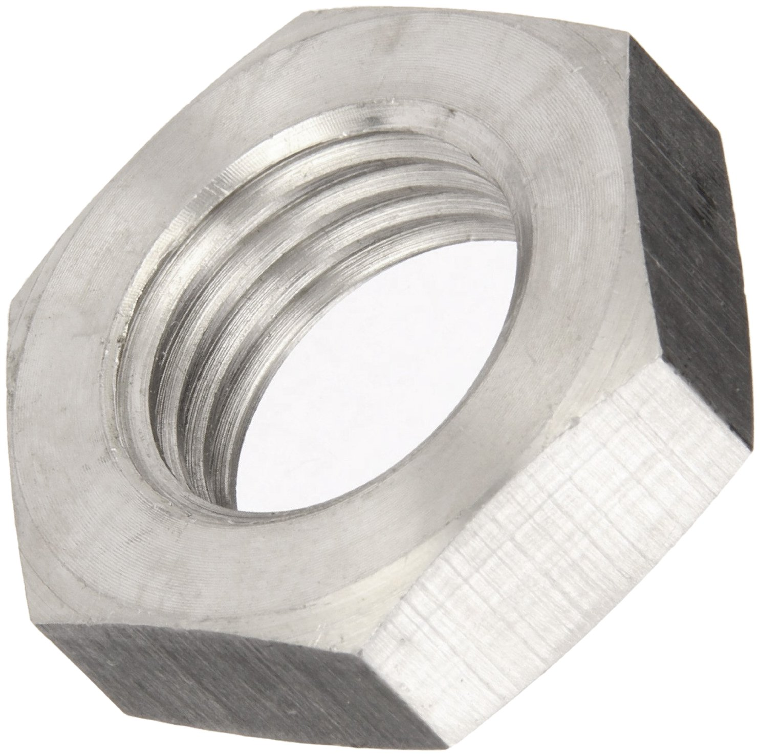 Class 8 DIN 934 Metric Pack of 25 Steel Hex Nut 27 mm Width Across Flats 15 mm Thick Plain Finish M18-2.5 Thread Size